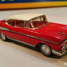 Coches a escala: CHEVROLET BEL-AIR, 1957, DE DINKY MATCHBOX, REF. DY-2 , 1/43. MADE IN MACAU 1988. Lote 141658994