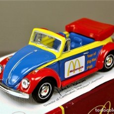 Coches a escala: DINKY MATCHBOX COLLECTIBLES VOLKSWAGEN BEETLE 1968 MCDONALD'S COLLECTION - 1/43 NUEVO/CAJA MUY RARO!. Lote 26269813