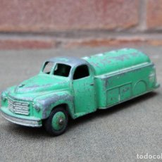 Coches a escala: ANTIGUO CAMION CISTERNA DINKY TOYS, AÑOS 50, MADE IN ENGLAND, MECCANO LTD.. Lote 146995798