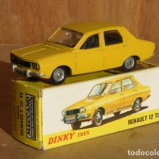 Coches a escala: RENAULT 12 TL - DINKY TOYS MADE IN SPAIN - ESC : 1/43. Lote 147086754