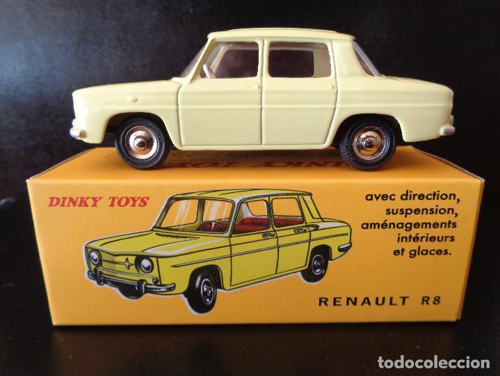RENAULT R8 DE DINKY TOYS NÚM. 517 DE AGOSTINI RÉPLICA (Juguetes - Coches a Escala 1:43 Dinky Toys)