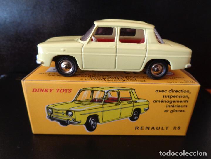 Coches a escala: Renault R8 de Dinky Toys núm. 517 de Agostini Réplica - Foto 2 - 150578958