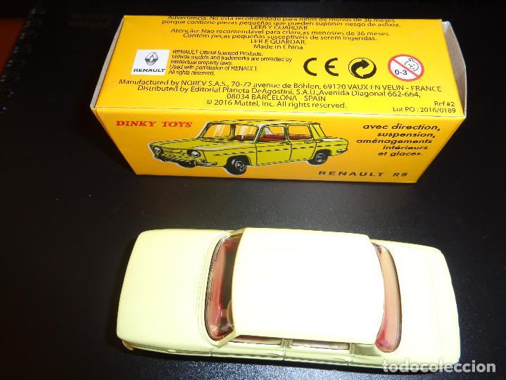 Coches a escala: Renault R8 de Dinky Toys núm. 517 de Agostini Réplica - Foto 3 - 150578958
