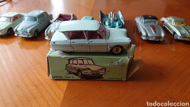 Coches a escala: Lote ocho coches, sólido, dinky toys, batman gorgy toys, excepcional lote - Foto 2 - 152540262