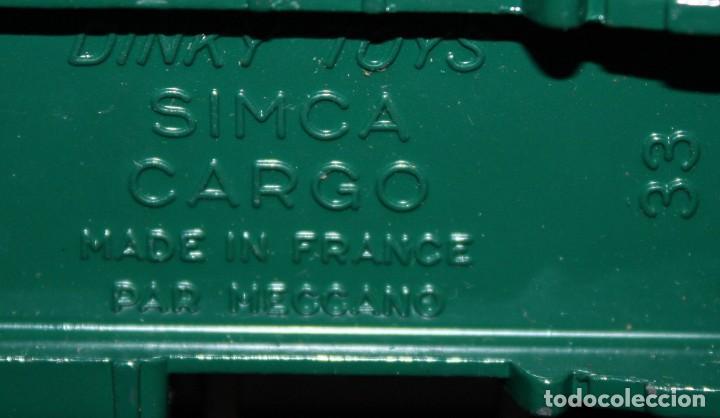 Coches a escala: DINKY TOYS, BENNE BASCULANTE SIMCA CARGO. REF. 33 B - Foto 9 - 152888246