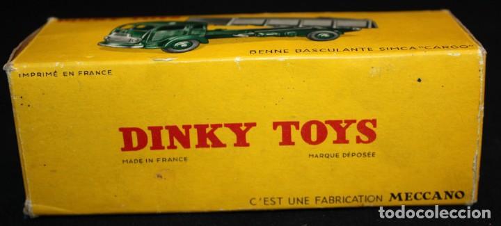 Coches a escala: DINKY TOYS, BENNE BASCULANTE SIMCA CARGO. REF. 33 B - Foto 11 - 152888246