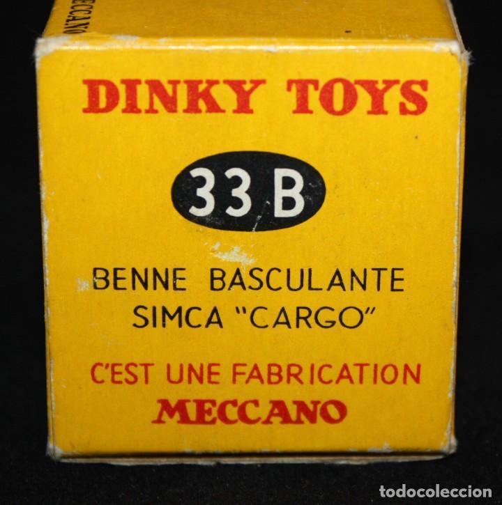 Coches a escala: DINKY TOYS, BENNE BASCULANTE SIMCA CARGO. REF. 33 B - Foto 12 - 152888246