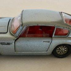 Coches a escala: DINKY TOYS ASTON MARTIN COUPÉ – CELESTE - VINTAGE 1963 MECCANO ENGLAND. Lote 155640078