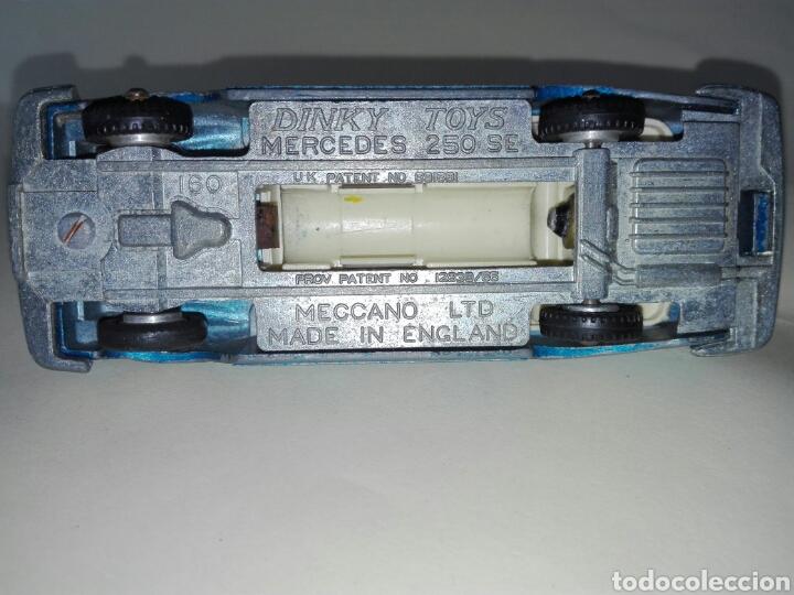 Coches a escala: Dinky Toys Mercedes 250 SE - Foto 5 - 160625120