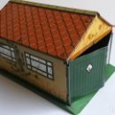 Coches a escala: DINKY TOYS - PRE-WAR 1937- GARAGE IN TINPLATE/TÔLE - EXCELLENT. Lote 163701934