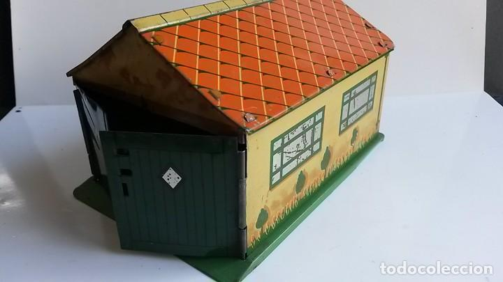 Coches a escala: DINKY TOYS - Pre-War 1937- Garage in Tinplate/Tôle - Excellent - Foto 2 - 163701934