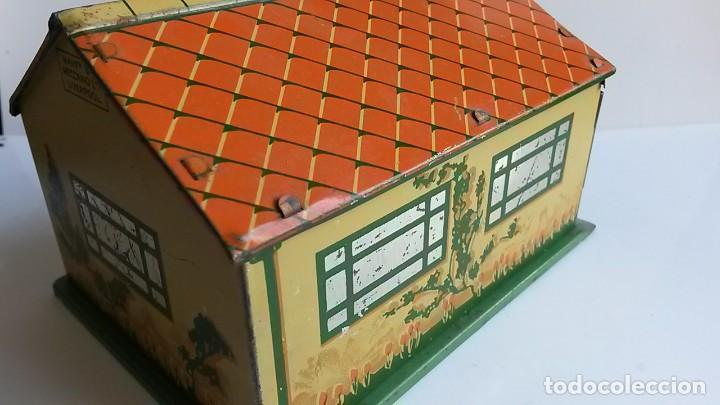 Coches a escala: DINKY TOYS - Pre-War 1937- Garage in Tinplate/Tôle - Excellent - Foto 4 - 163701934
