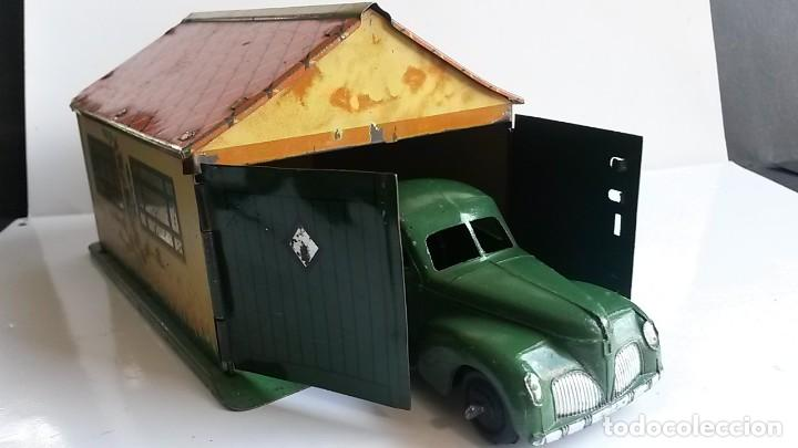 Coches a escala: DINKY TOYS - Pre-War 1937- Garage in Tinplate/Tôle - Excellent - Foto 8 - 163701934