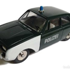 Coches a escala: FORD TAUNUS COCHE POLICIA POLICE DINKY TOYS ATLAS. Lote 165482086