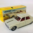 Coches a escala: DINKY TOYS TRIANG MECCANO MADE IN FRANCE RÉFÉRENCE 510 PEUGEOT 204 ALL ORIGINAL. Lote 166133668