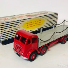 Coches a escala: DINKY SUPERTOYS BY MECCANO REF 905 FODEN FLAT TRUCK WITH CHAINS MADE IN ENGLAND ALL ORIGINAL. Lote 166331428