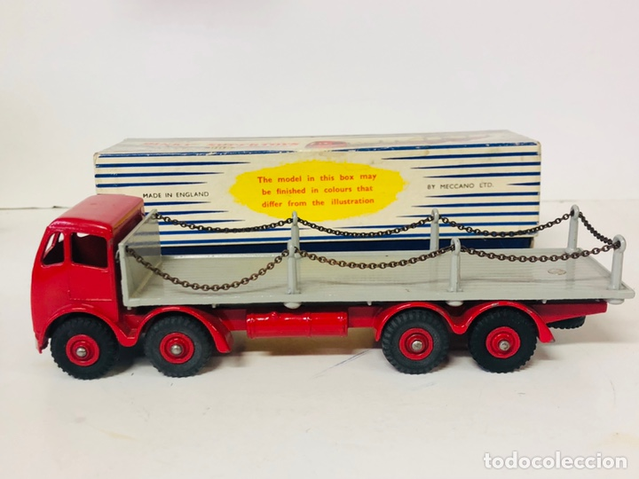 Coches a escala: Dinky Supertoys By Meccano Ref 905 FODEN FLAT TRUCK with CHAINS Made In England ALL ORIGINAL - Foto 2 - 166331428