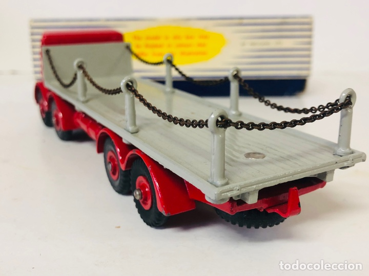 Coches a escala: Dinky Supertoys By Meccano Ref 905 FODEN FLAT TRUCK with CHAINS Made In England ALL ORIGINAL - Foto 3 - 166331428