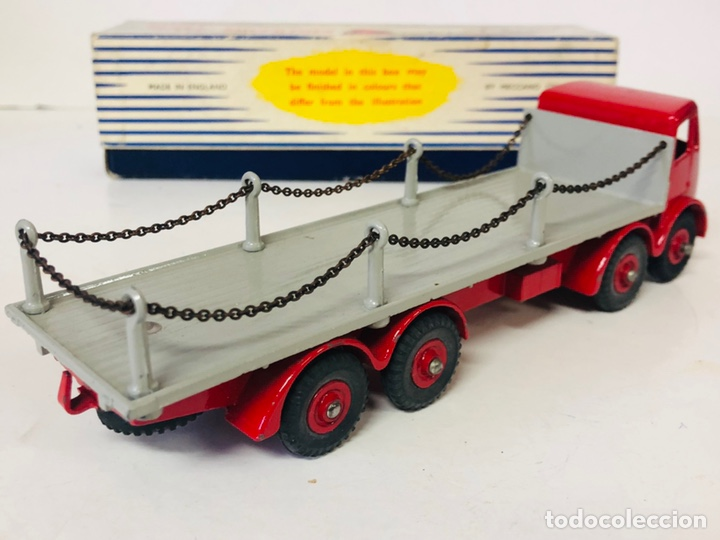 Coches a escala: Dinky Supertoys By Meccano Ref 905 FODEN FLAT TRUCK with CHAINS Made In England ALL ORIGINAL - Foto 4 - 166331428