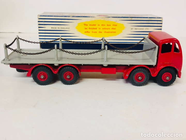 Coches a escala: Dinky Supertoys By Meccano Ref 905 FODEN FLAT TRUCK with CHAINS Made In England ALL ORIGINAL - Foto 5 - 166331428