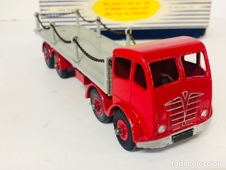 Coches a escala: Dinky Supertoys By Meccano Ref 905 FODEN FLAT TRUCK with CHAINS Made In England ALL ORIGINAL - Foto 6 - 166331428