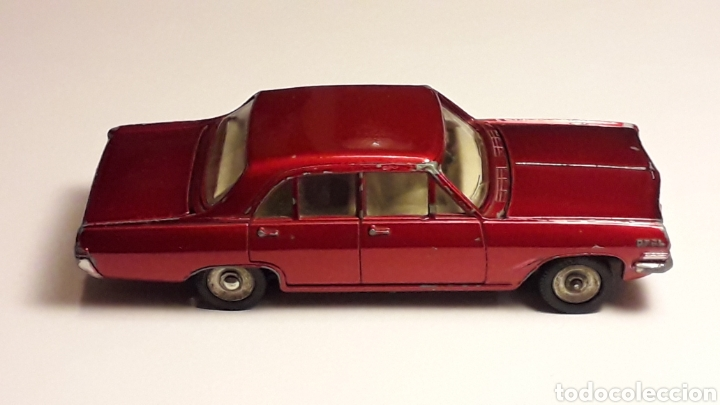 Coches a escala: Opel Admiral ref. 513, metal esc. 1/43, Dinky Toys Poch (Spain) made in France, original años 60. - Foto 6 - 166575794