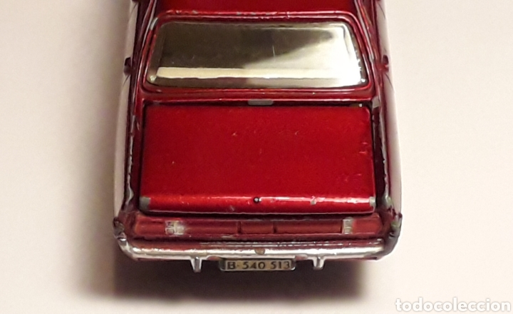 OPEL ADMIRAL REF. 513, METAL ESC. 1/43, DINKY TOYS POCH (SPAIN) MADE IN FRANCE, ORIGINAL AÑOS 60. (Juguetes - Coches a Escala 1:43 Dinky Toys)