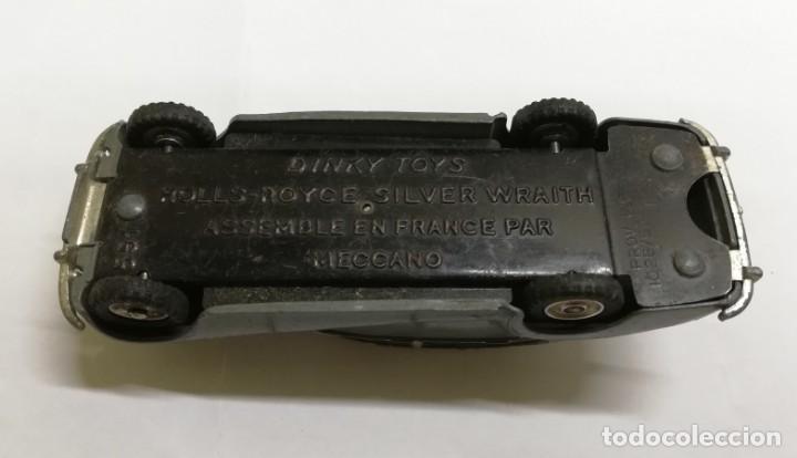 Coches a escala: COCHE ROLLS - ROYCE SILVER WRAITH 551, Dinky Toys y CARAVANE, REF. 811, assemble en France par Mecca - Foto 6 - 168568088