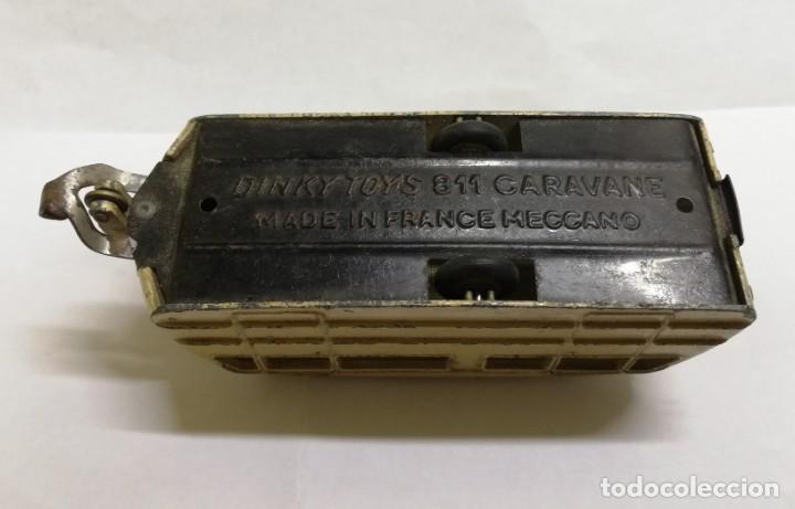Coches a escala: COCHE ROLLS - ROYCE SILVER WRAITH 551, Dinky Toys y CARAVANE, REF. 811, assemble en France par Mecca - Foto 9 - 168568088