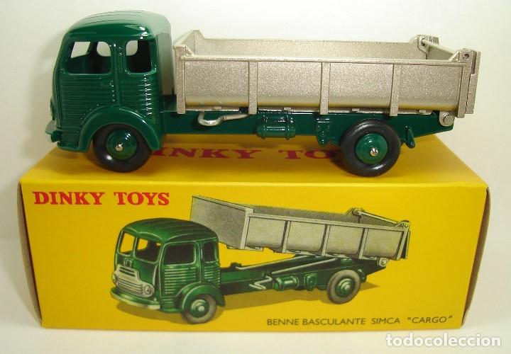 CAMION BASCULANTE SIMCA CARGO DINKY TOYS ATLAS (Juguetes - Coches a Escala 1:43 Dinky Toys)