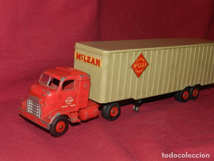 (BF) DINKY SUPERTOYS TRUCKING MC LEAN COMPANY - CAMION ORIGINAL, 28'5X5,5 CM (Juguetes - Coches a Escala 1:43 Dinky Toys)