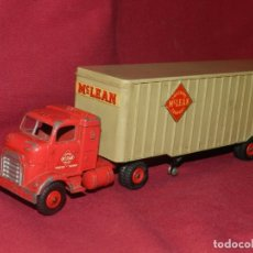 Coches a escala: (BF) DINKY SUPERTOYS TRUCKING MC LEAN COMPANY - CAMION ORIGINAL, 28'5X5,5 CM. Lote 175785459