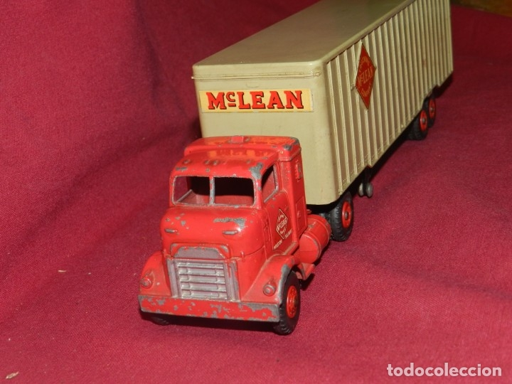 Coches a escala: (BF) Dinky Supertoys Trucking Mc Lean Company - Camion original, 28'5x5,5 cm - Foto 2 - 175785459