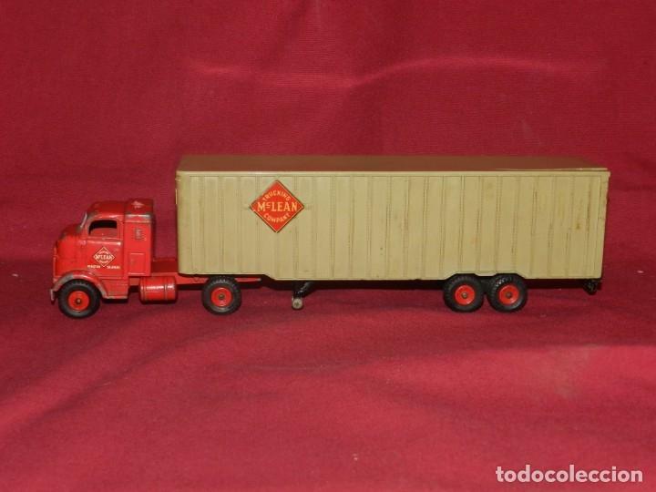 Coches a escala: (BF) Dinky Supertoys Trucking Mc Lean Company - Camion original, 28'5x5,5 cm - Foto 3 - 175785459