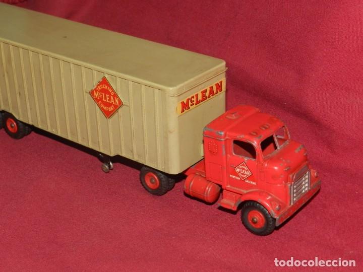 Coches a escala: (BF) Dinky Supertoys Trucking Mc Lean Company - Camion original, 28'5x5,5 cm - Foto 7 - 175785459