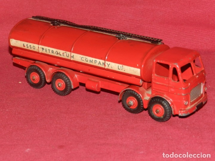 (BF) DINKY SUPERTOYS LEYLAND OCTOPUS MECCANO LTD - CAMION GASOLINA ESSO 18X5 CM (Juguetes - Coches a Escala 1:43 Dinky Toys)