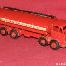 Coches a escala: (BF) DINKY SUPERTOYS LEYLAND OCTOPUS MECCANO LTD - CAMION GASOLINA ESSO 18X5 CM. Lote 175785778