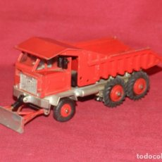 Coches a escala: (BF) DINKY SUPERTOYS FODEN DUMP TRUCK - CAMION - 17X5 CM, SEÑALES DE USO NORMALES. Lote 175786009