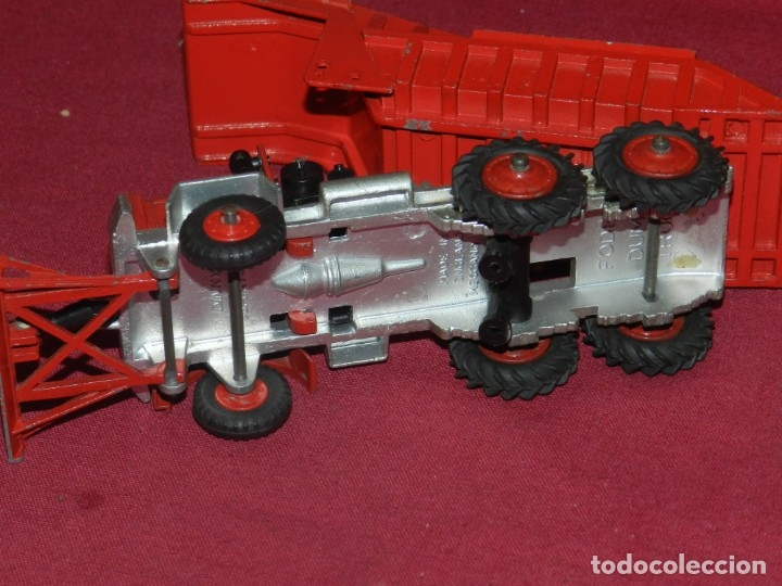 Coches a escala: (BF) DINKY SUPERTOYS Foden Dump Truck - Camion - 17x5 cm, Señales de uso normales - Foto 4 - 175786009
