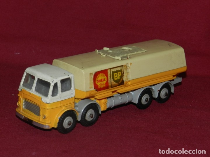 (BF) DINKY SUPERTOYS LEYLAND OCTOPUS MECANNO LTD GASOLINA BP SHELL - 18X4,5 CM. (Juguetes - Coches a Escala 1:43 Dinky Toys)