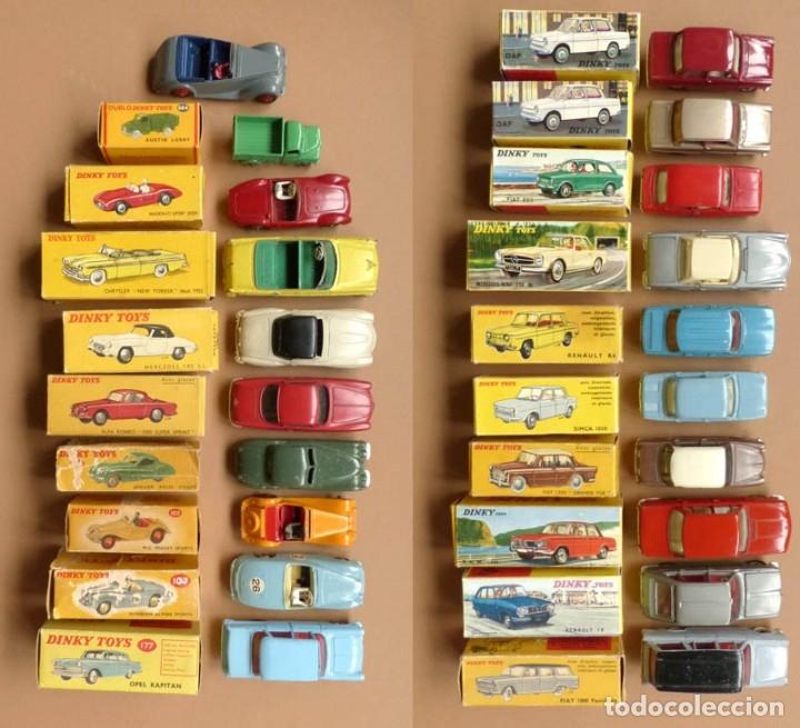 DINKY TOYS 102-157-177-519-517..Y MAS. ORIGINAL-CAJAS-AÑOS 50-70. -MUY BUEN ESTADO-20 COCHES (Juguetes - Coches a Escala 1:43 Dinky Toys)
