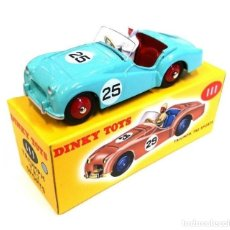 Coches a escala: DINKY TOY CAR REF 111 TRIUMPH TR2 SPORTS NUEVO EN CAJA ORIGINAL. Lote 179201836