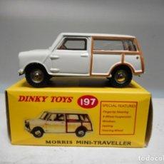 Coches a escala: DINKY TOY CAR REF 197 MINI MORRIS VIAJERO NUEVO. Lote 179202141