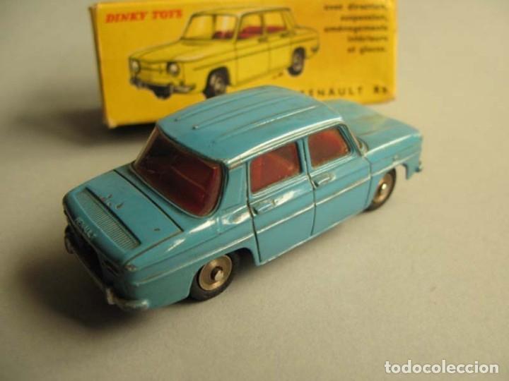 Coches a escala: Dinky Toys RENAULT R8 Nº 517 + caja. ORIGINAL.AÑO APROX 1960 - Foto 10 - 181970898