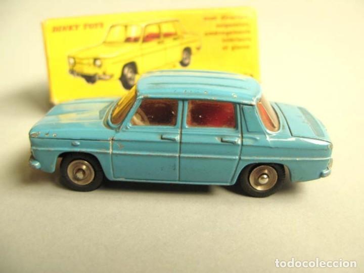 Coches a escala: Dinky Toys RENAULT R8 Nº 517 + caja. ORIGINAL.AÑO APROX 1960 - Foto 4 - 181970898