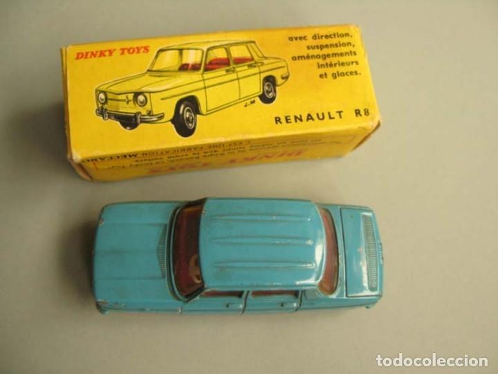 Coches a escala: Dinky Toys RENAULT R8 Nº 517 + caja. ORIGINAL.AÑO APROX 1960 - Foto 5 - 181970898