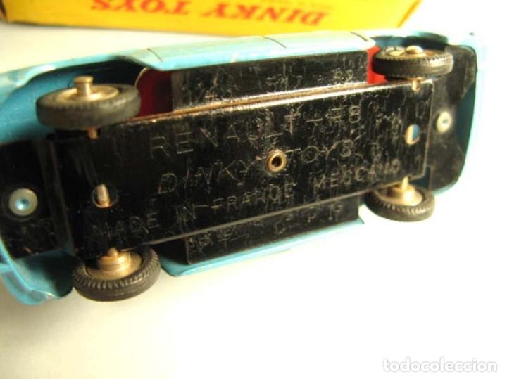 Coches a escala: Dinky Toys RENAULT R8 Nº 517 + caja. ORIGINAL.AÑO APROX 1960 - Foto 6 - 181970898