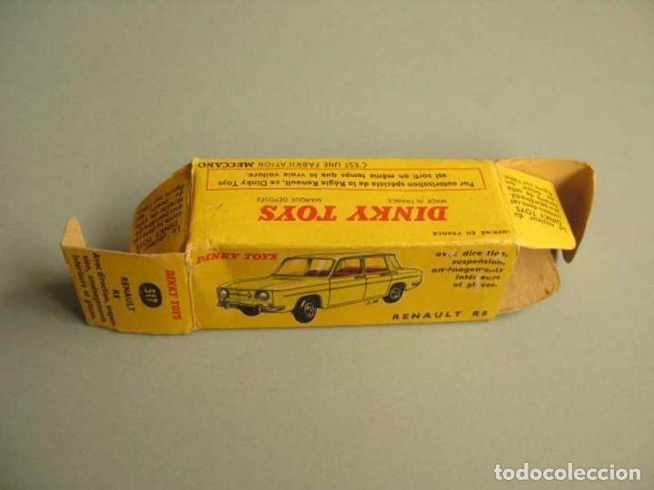 Coches a escala: Dinky Toys RENAULT R8 Nº 517 + caja. ORIGINAL.AÑO APROX 1960 - Foto 8 - 181970898