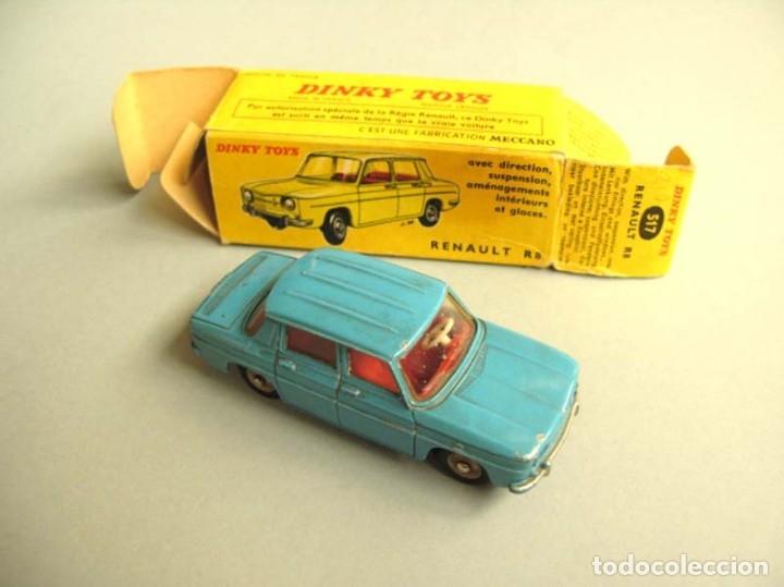 DINKY TOYS RENAULT R8 Nº 517 + CAJA. ORIGINAL.AÑO APROX 1960 (Juguetes - Coches a Escala 1:43 Dinky Toys)