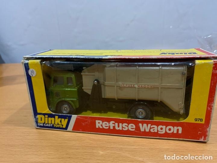 DINKY TOYS CAMION REFUSE WAGON ESCALA 1/43 (Juguetes - Coches a Escala 1:43 Dinky Toys)